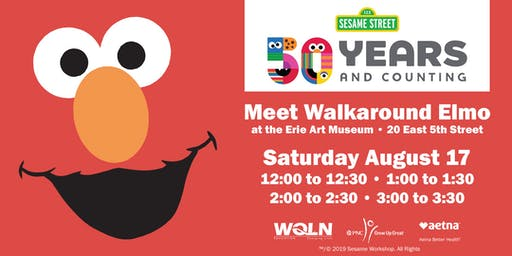 Meet Walkaround Elmo