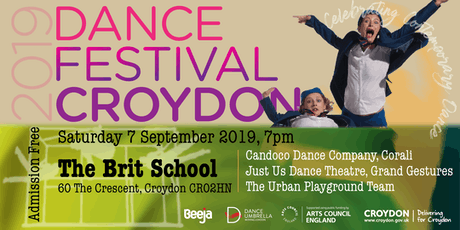 Dance Festival Croydon 2019 - Performances - The Brit School tickets