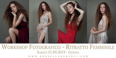 WORKSHOP FOTOGRAFICO - RITRATTO FEMMINILE  tickets