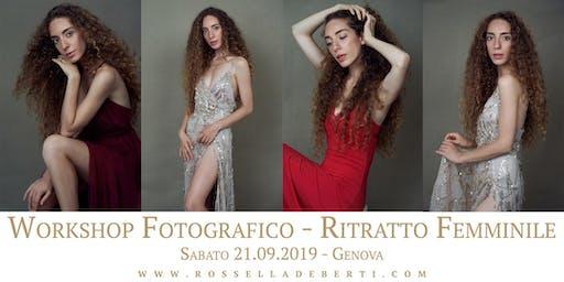 WORKSHOP FOTOGRAFICO - RITRATTO FEMMINILE