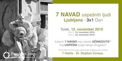 7 Navad - Ljubljana - November