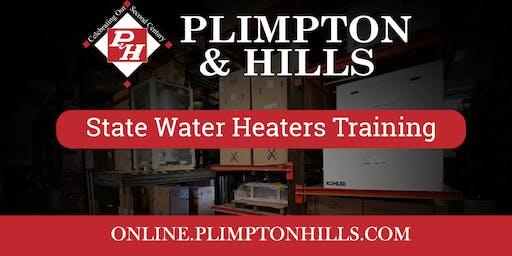 State Water Heaters Training-Mass