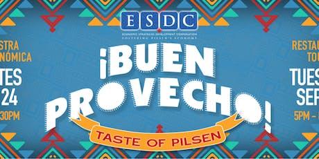 ¡Buen Provecho! Taste of Pilsen tickets