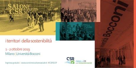 Il Salone della CSR e dell'innovazione sociale biglietti