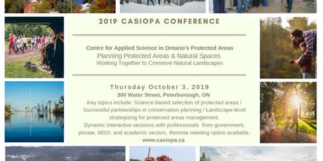 2019 CASIOPA Conference - use this to attend in Person at Peterborough ON tickets