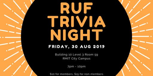 RMIT Ultimate Trivia Night