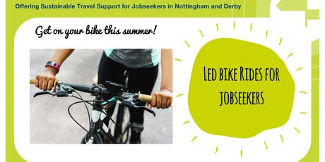 Led Bike Rides for Jobseekers tickets