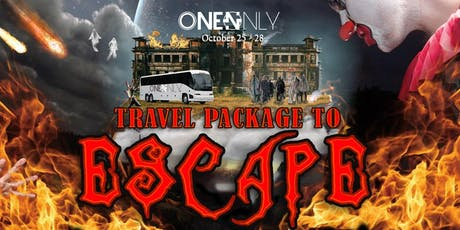 Escape Halloween Travel Package Experience tickets