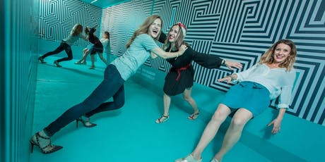 Museum Of Illusion - You Won't Believe Your Eyes !! - COUPLES DATE tickets