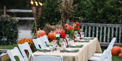 Beach Plum Fall Farm to Table Dinner Series