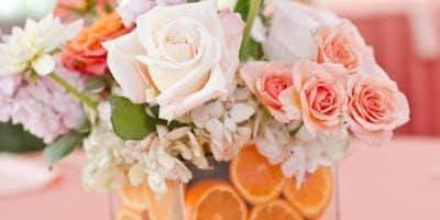 Summer Citrus Flower Arrangement 8/25 @10:00AM