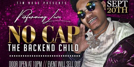No cap aka the Backendchild at Paris lounge tickets