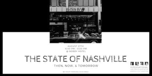 The State of Nashville - August ILEA Meeting