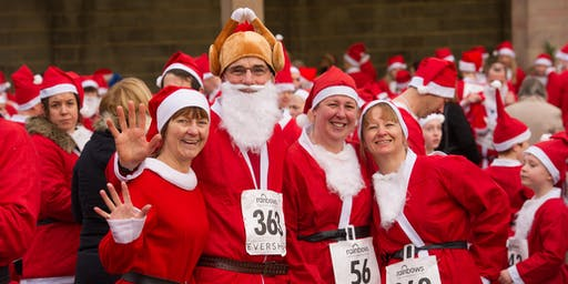 Rainbows Derby Santa Fun Run 2019