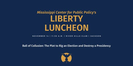 Liberty Luncheon: Andy McCarthy and Ball of Collusion