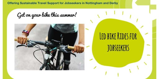 Led Bike Rides for Jobseekers