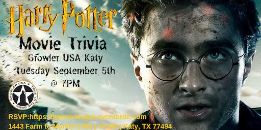 Harry Potter Movies Trivia at Growler USA Katy