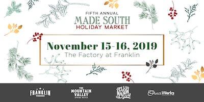 2019 MADE SOUTH Holiday Market