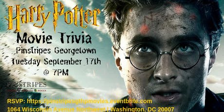 Harry Potter Movies Trivia at Pinstripes Georgetown tickets