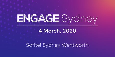 Engage Sydney 2020 tickets