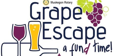 Muskegon Rotary 16th Annual Grape Escape tickets