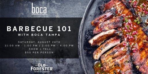 Barbecue 101 with Boca