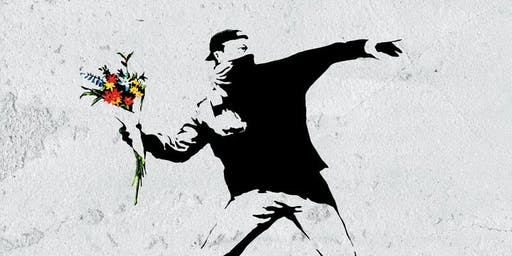Banksy at The Stag, Hampstead