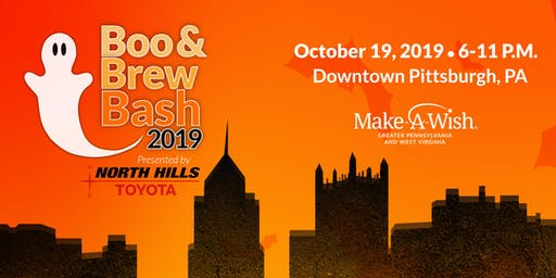 Make-A-Wish® 2019 Boo & Brew Bash Presented by North Hills Toyota