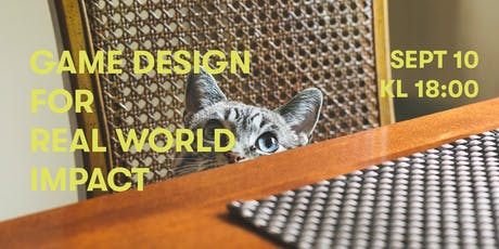 Game design for real world impact tickets