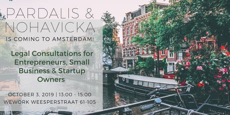 Legal Consultations for Entrepreneurs, Small Business & Startup Owners in Amsterdam tickets