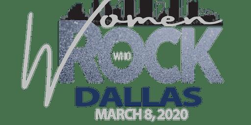 Women Who ROCK Dallas Inaugural Black-Tie Gala
