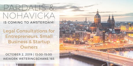 Legal Consultations & Help for Entrepreneurs, Business & Startup Owners in Amsterdam! tickets