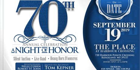 NCADD 70th Annual Celebration at Night of Honor: Tom Kepner tickets