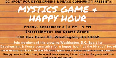 Mystics Game + Happy Hour