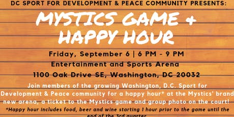Mystics Game + Happy Hour tickets