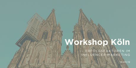 Workshop - Erfolgsfaktoren im Influencer Marketing | Okandada, Köln Tickets