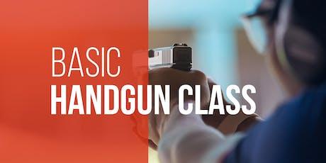 Basic Handgun Class tickets