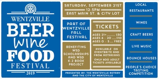 Wentzville Beer, Wine, & Food Festival 2019