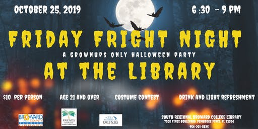 Friday FRIGHT NIGHT at the Library