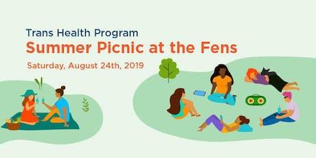 Fenway Health's Trans Health Program Summer Picnic at the Fens tickets