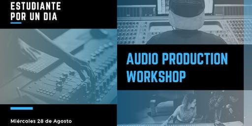 Audio Production Workshop