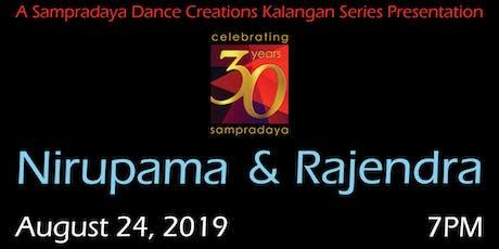 Nirupama & Rajendra - A Kalangan Series performance tickets