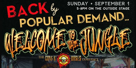 Welcome to the Jungle - The Guns N' Roses Experience tickets