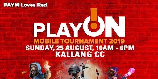 PAYM Loves Red Play On! @ Kallang CC Mobile Legends Bang Bang Tournament 2019