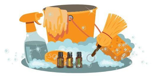 Introduction to Essential Oils & Green cleaning 'make and take' workshop