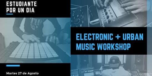 Electronic & Urban Music Workshop