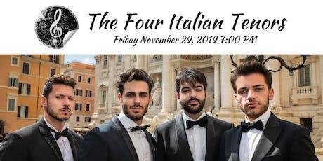 The Four Italian Tenors tickets