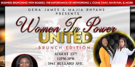 Women In Power United: Brunch Edition tickets