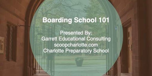 2019 Boarding School 101 & School Fair