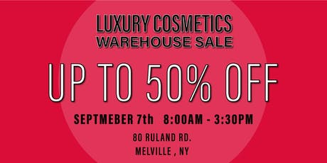 Special Invitation Warehouse Sale - SEPTEMBER 7, 2019 tickets
